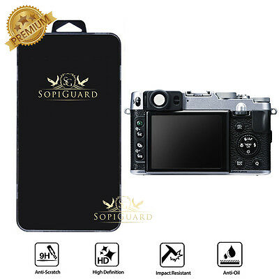 SopiGuard Premium Tempered Glass Japan Screen Protector Fuji X20 X10 XE1