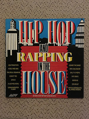 Various – Hip Hop And Rapping In The House Vinyl Compilation DJ