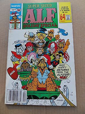 Alf (TV) Holiday Special  2 . X-Men Parody Cover -  Marvel 1990 -    VF - minus