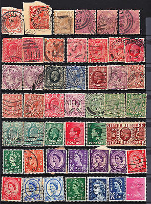 Great Britain 47  Used Stamps Some Classics(C453)