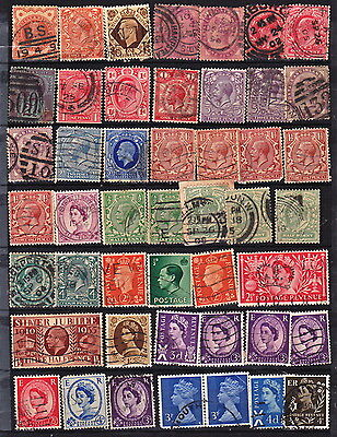 Great Britain 48  Used Stamps Some Classics (C454)