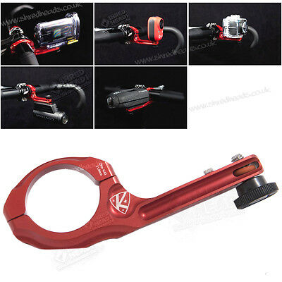 K-Edge Go Big Pro Universal Handlebar Cycle Mount for all cameras (Red) - NEW!