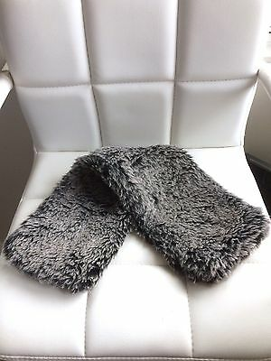 *RRP $28* Siberian Wolf Faux Fur Microwaveable Nordic Neck Warmer, COVER ONLY