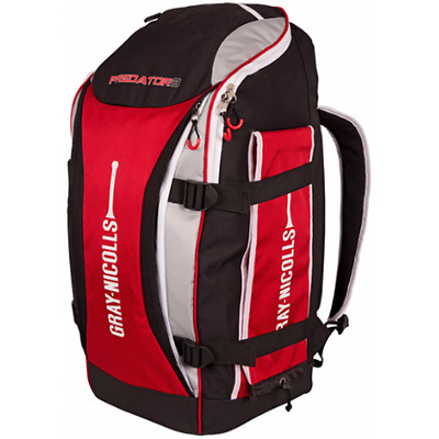 2017 Gray Nicolls Predator 3 100 Black Grey Red Duffle Cricket Bag