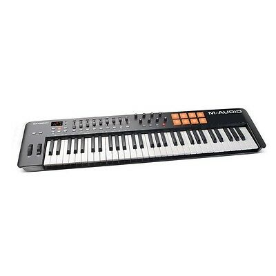 M-Audio Oxygen 61 v4 IV USB MIDI Keyboard / Pad Controller inc Warranty