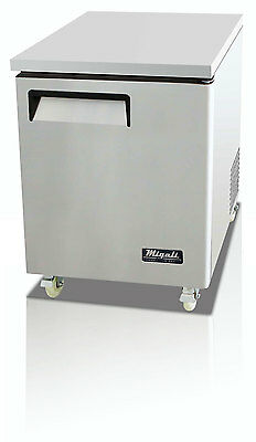 Migali C-U27F Commercial Single Door Undercounter Freezer