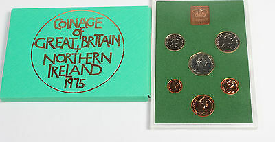 The Decimal Coinage of Great Britain and Northern Ireland Proof set 1975