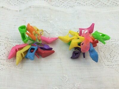 SARA GALLO Barbie DOLL SHOES Made Into Earrings!