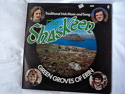 SHASKEEN Green Groves of Erin. Traditional Irish Music and Song MEGA RARE~ EX/VG