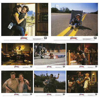 Raising Arizona Set of 8 UK Lobby Cards (LOB35)