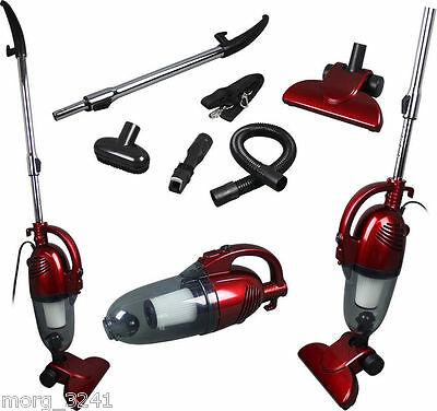 2 In 1 Hand Held & Upright Bagless Compact Light Weight Vacuum Cleaner Hoover