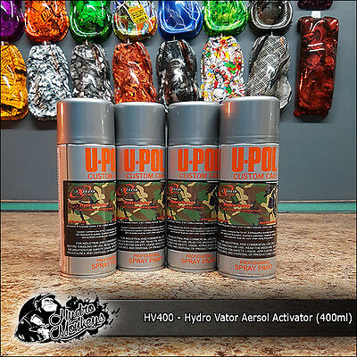 400ml Aerosol of Hydro Vator Activator - hydrographics water transfer