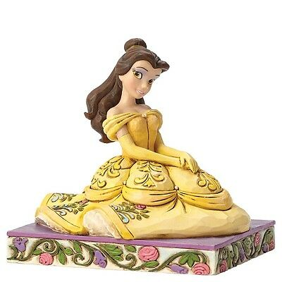 """Disney Traditions - """"Be Kind"""" Belle Figurine  - Beauty and the Beast"""
