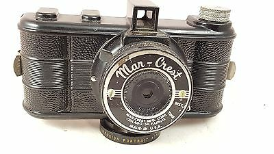 Extremely Rare Mar-Crest camera. Made in USA