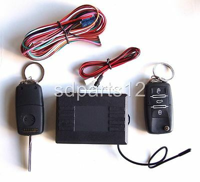 KIT REMOTE CONTROL LOCKING CENTRAL for VW Golf Polo Passat 1996-2006 NEW