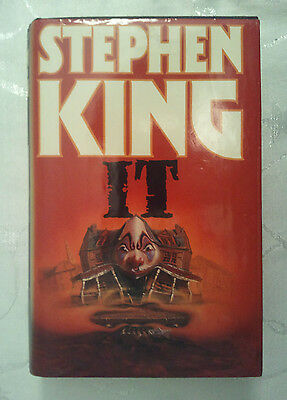 IT by Stephen King (Hardback, 1986) UK First Edition 1st/1st