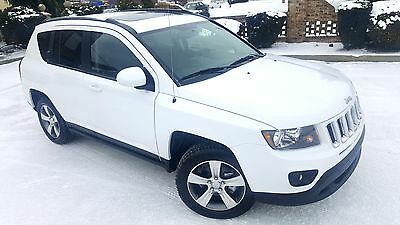 2016 Jeep Compass High Altitute FWD  High Aititude Only 1,334 Miles Leather heated seats Moonroof Wheels Remore start