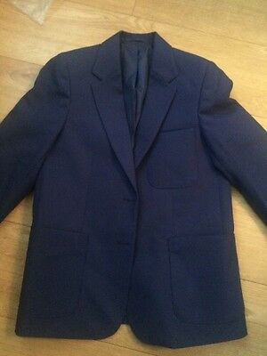 "David Luke Girls Navy Eco Blazer size 32"" 80 cm"