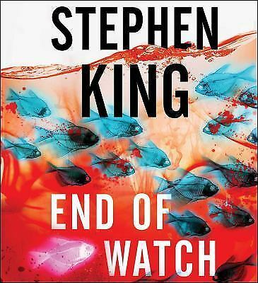 END OF WATCH unabridged audio book on CD by STEPHEN KING