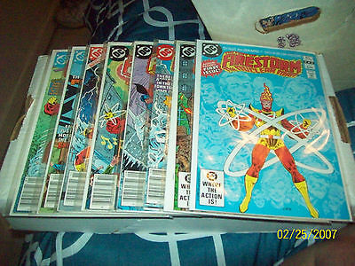 Fury Of Firestorm # 1, 2, 3, 4, 5, 6, 7, 8,