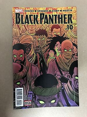 Black Panther #10 1St Print Marvel Comics (2017) Midnight Angels