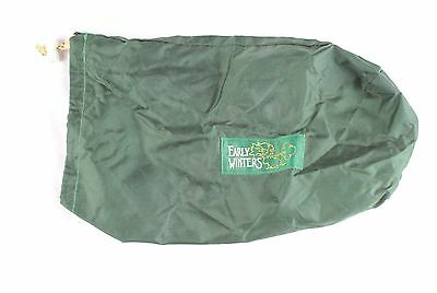"Early Winters Green 12"" x 8"" Drawstring Bag"