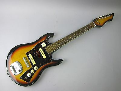 Vintage Electric Right-Handed Guitar made in Japan