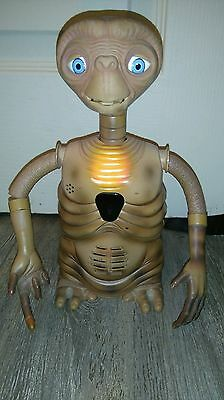 VERY RARE E.T extra terrestial toy by Tiger Electronics