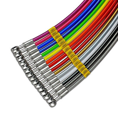 HEL Braided Brake Lines Hoses - Custom Single Line Made To Your Specification
