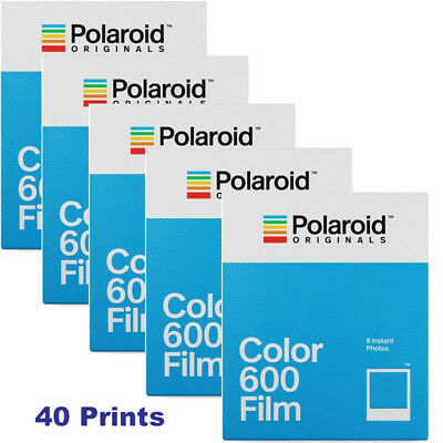 5 Impossible PRD4514 Color Instant Film for Polaroid 600 Type Cameras (5 Packs)