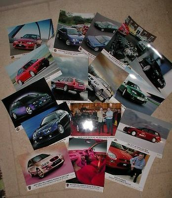 50 Original Mg Rover Press Photographs Rover 75 V8 Mgzt X Power Concept 75 Coupe
