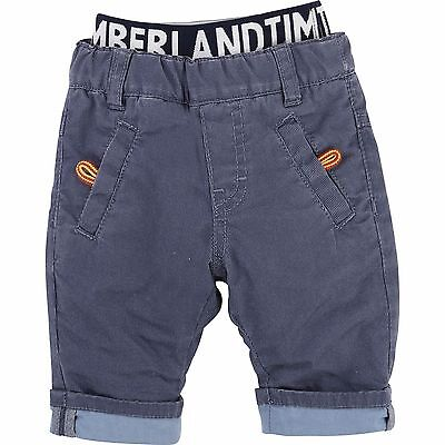 Designer TIMBERLAND Baby Boys lightly padded trousers 12 mths Blue SALE SALE