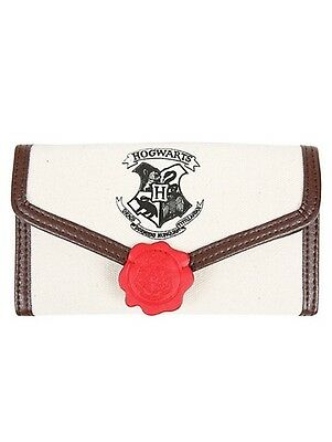 Harry Potter Hogwarts Letter Trifold Flap Wallet Gift Rare HTF New With Tags!