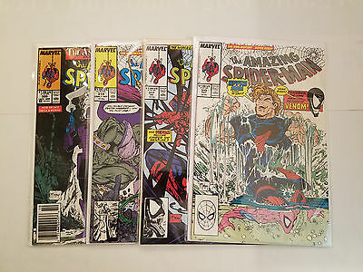 Amazing Spider-Man #315 #317 #319 #320 Lot of 4 Marvel Comics Todd McFarlane