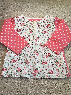 Lovely Cath Kidston Bramley Sprig Top. 3-6 M Lovely Condition