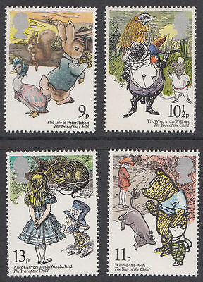 SG1091-1094 1979 YEAR OF THE CHILD 4v Unmounted Mint
