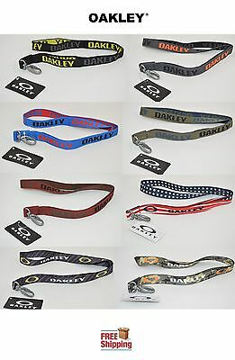 Oakley® Brand Genuine Lanyard Keychain I.d. Clip Choose Color New Free Shipping