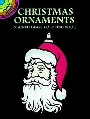 Christmas Santa Ornaments Stained Glass Book