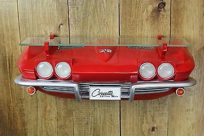 GM Chevrolet 1963 Chevy Corvette Stingray Front End Wall Shelf Light Man Cave