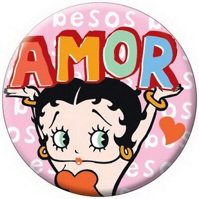 Betty Boop Amor Button 81507