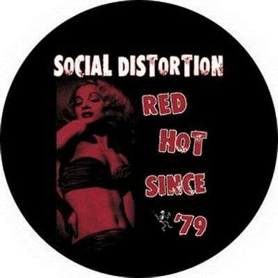 Social Distortion Red Hot Button B-0030