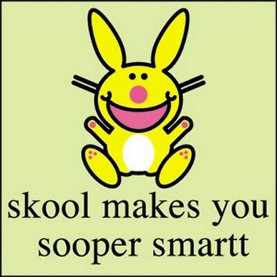 Happy Bunny Sooper Smart Button B-HB-0024