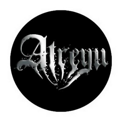 Atreyu Slasher Logo Button B-3878-CH
