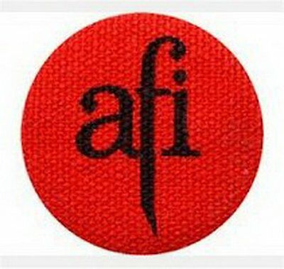 AFI Fabric Red 1.5-inch Button
