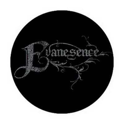 Evanescence Fancy Logo Button B-3932