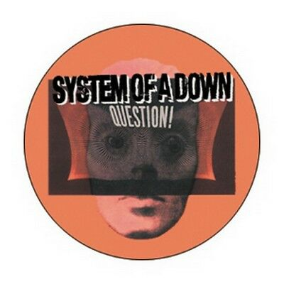 System of A Down Question Button B-3266