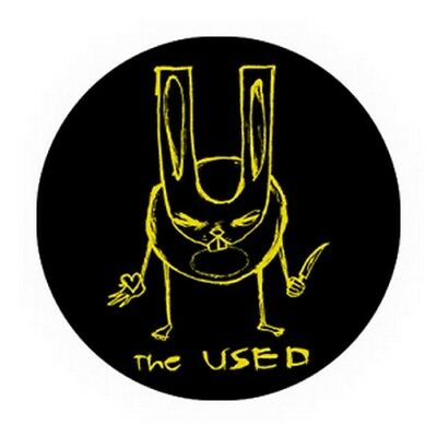 The Used Killer Bunny Button B-2537