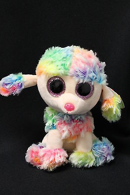 0f7f94543c2 TY BEANIE BOOS Rainbow the Poodle Dog 6