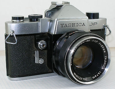 Yashica JP camera with lens