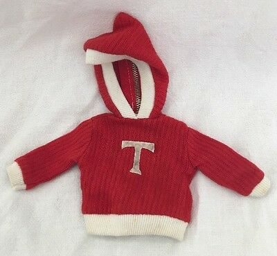 Tammy Doll 9117-3 Beau And Arrow Red Sweatshirt With Hood TAGGED
